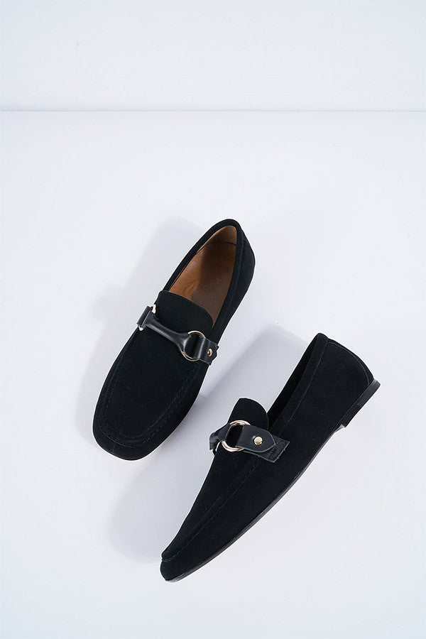 Leather Moccasin Loafer