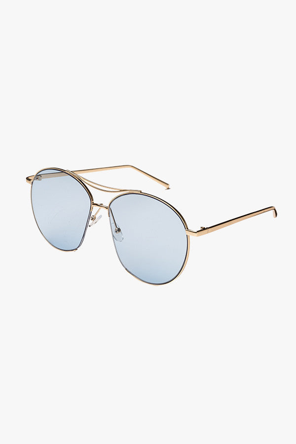 Retro Clear Sunglasses