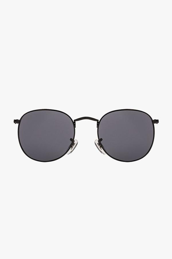 Round Metal Frame Sunglasses