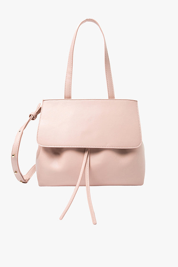 Pink Bucket Shoulder Bag