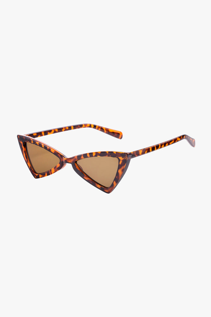 Cat Eye Sunglasses in Leopard