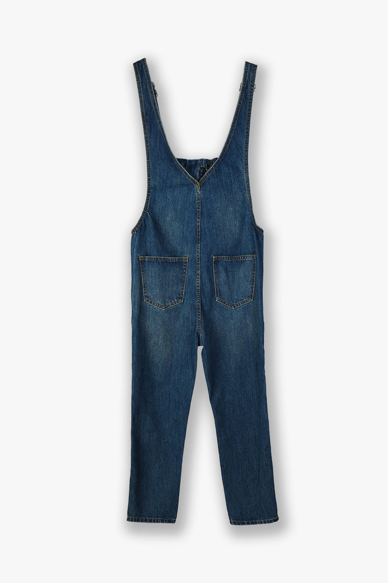 Baggy Denim Overall