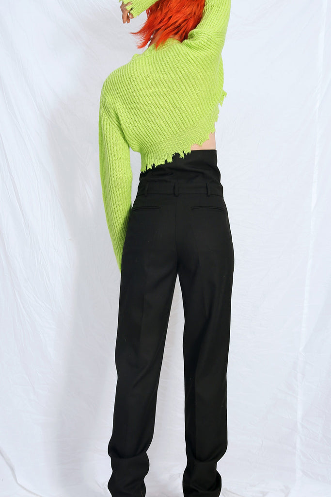 Tailored Pants with Corset