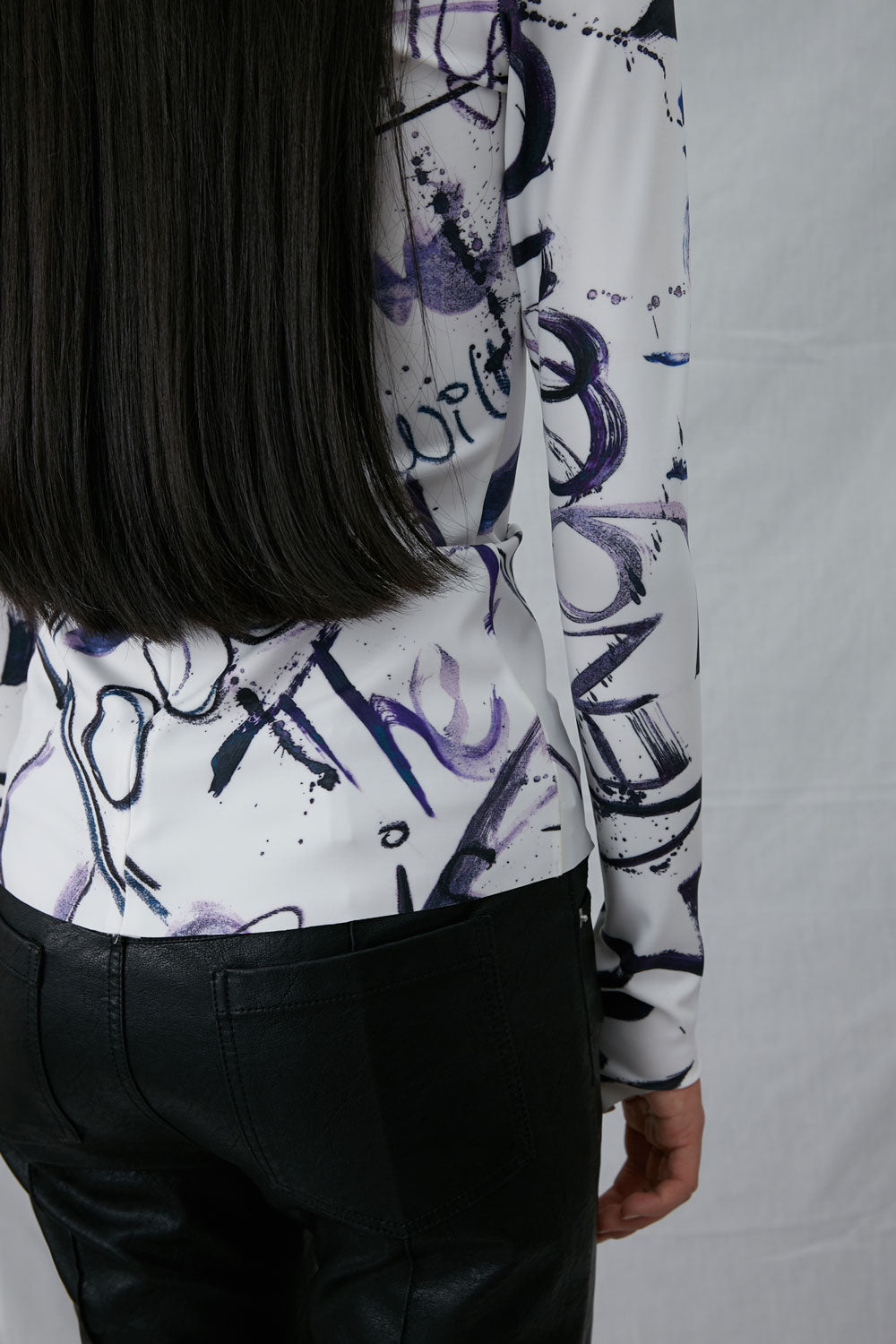 Graffiti Print Shirt