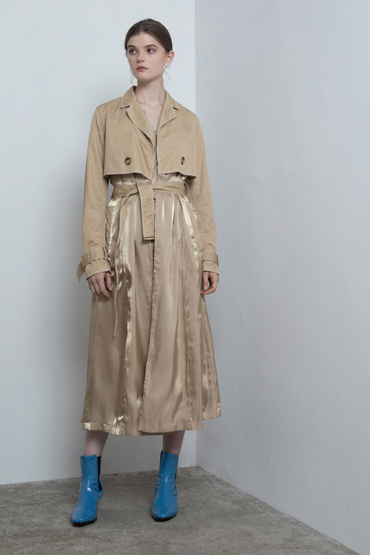 Side Slits Trench Coat