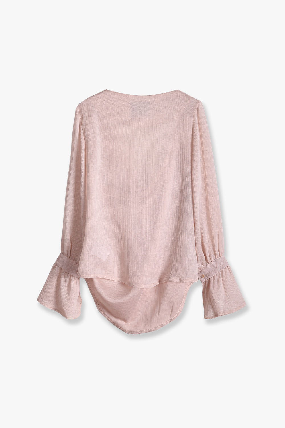Off-Shoulder Bell Sleeved Blouse