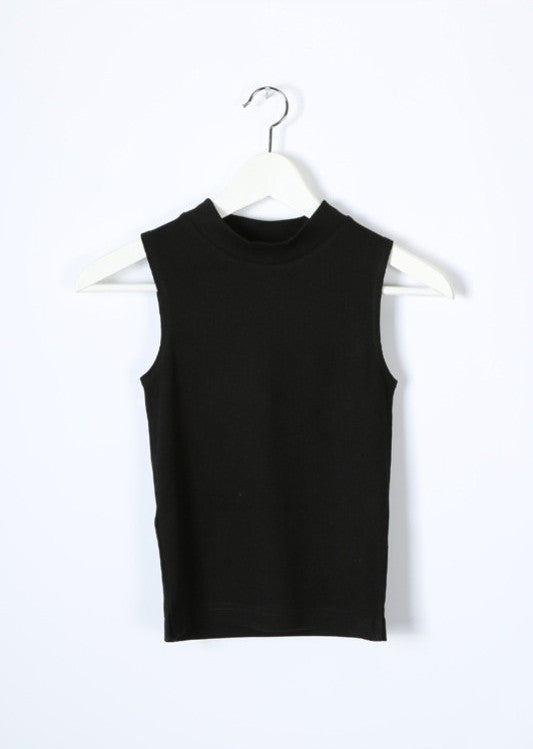 Crop Knit Tank Top