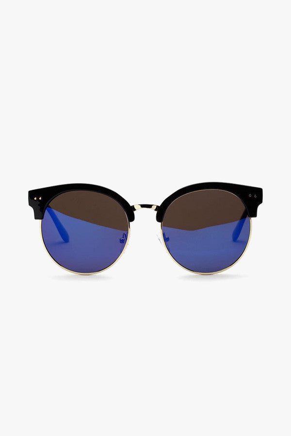 Oversized Cat-Eye Tortoiseshell Sunglasses