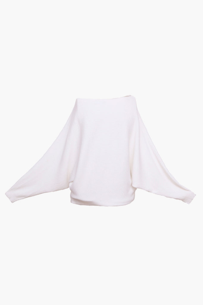 Knit Dolman Sleeve Sweater