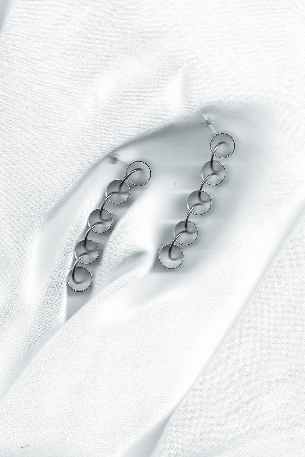 Cylinder Link Earrings