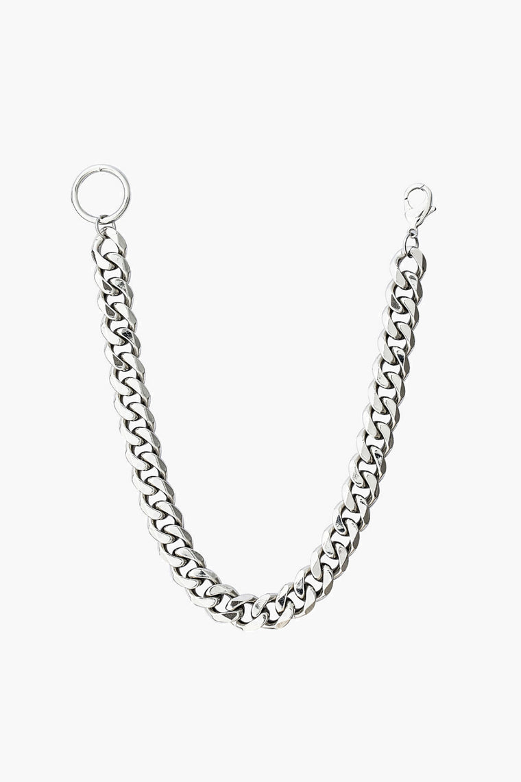 Silver Plated Copper Chain Necklace