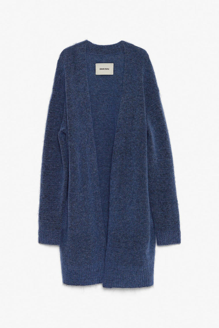 Classic Oversized Wool Cardigan