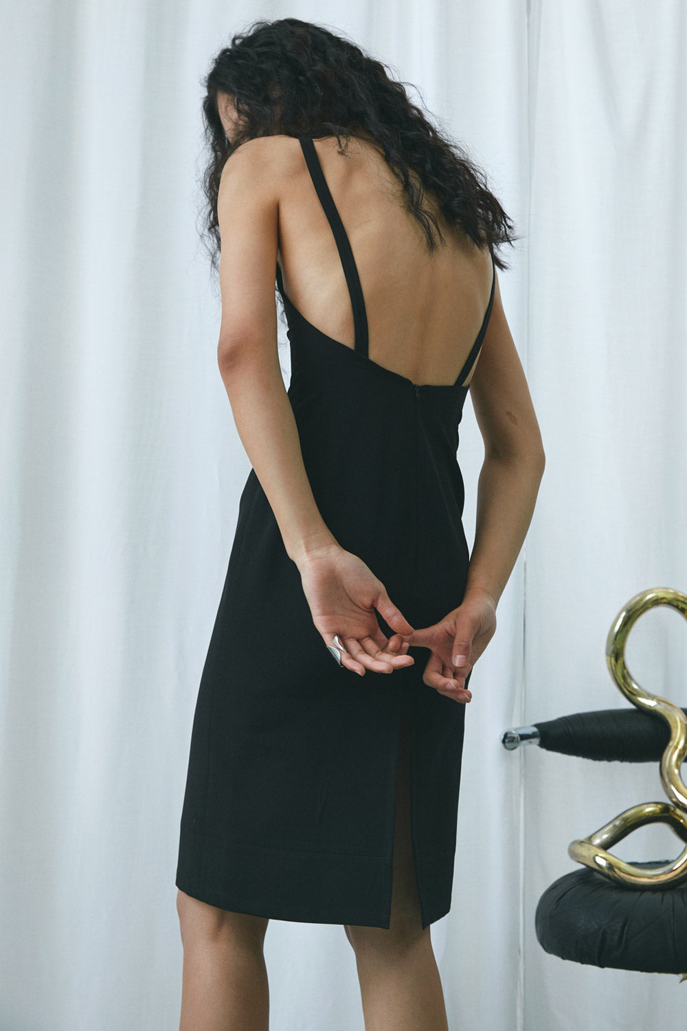 Strappy Backless Dress