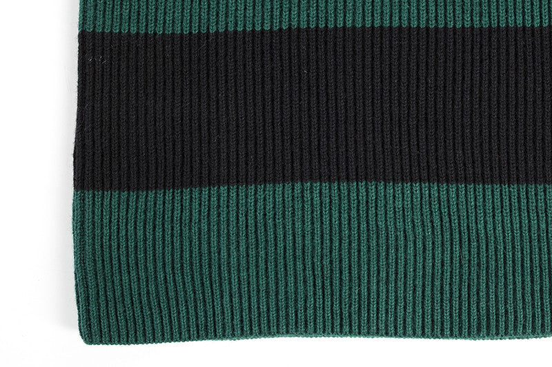 Striped Sweater in Green