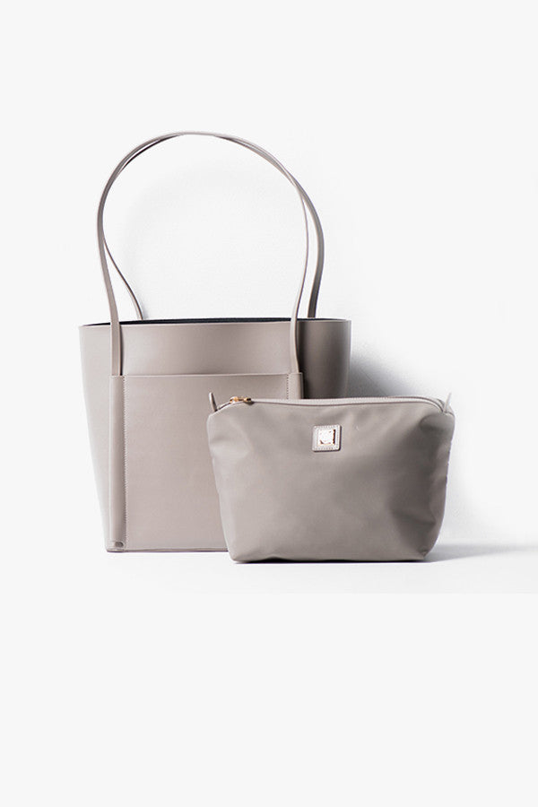 Medium Leather Tote Bag