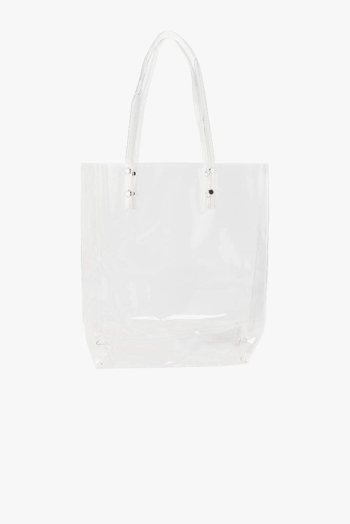 Transparent PVC Tall Tote Bag