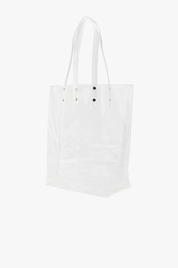 Transparent PVC Tote Bag