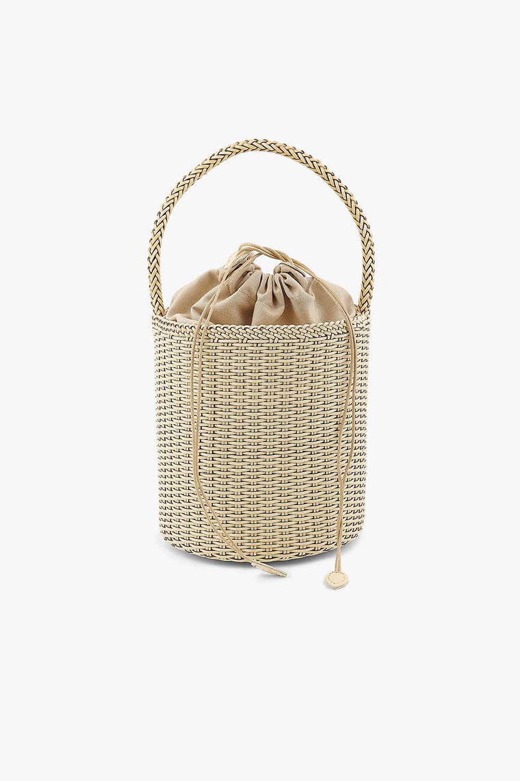 Tall Basket Bag