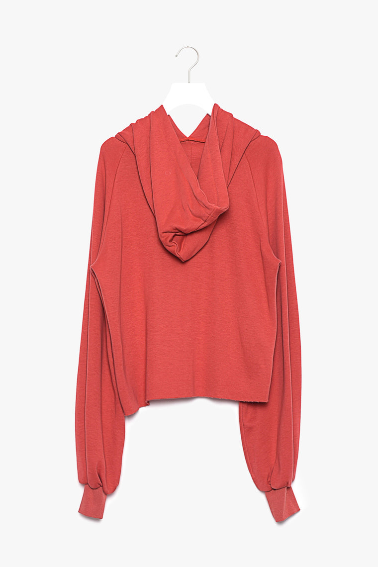 Oversized Bell Sleeve Cotton Pullover