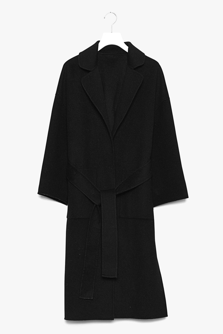 Oversized Soft Wool Cotton Coat