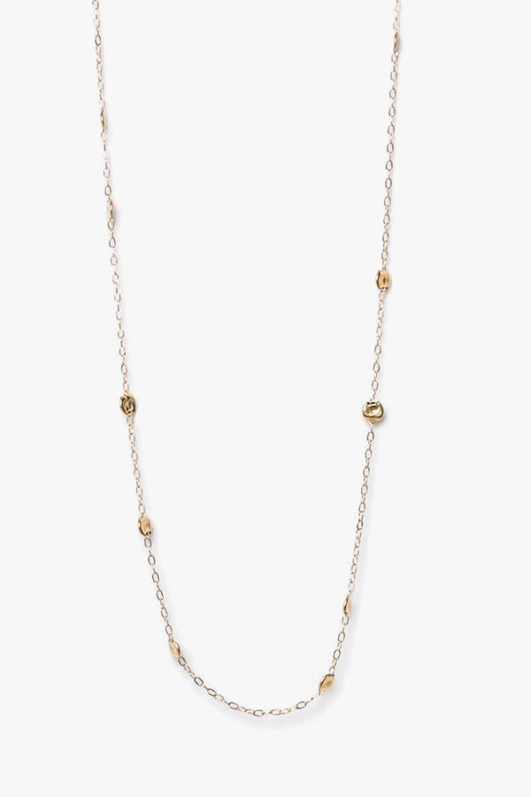 Plated Gold Chain Necklace