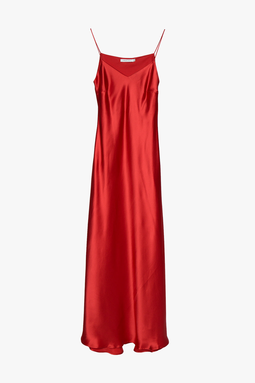 Silk V-Neck Slip Dress