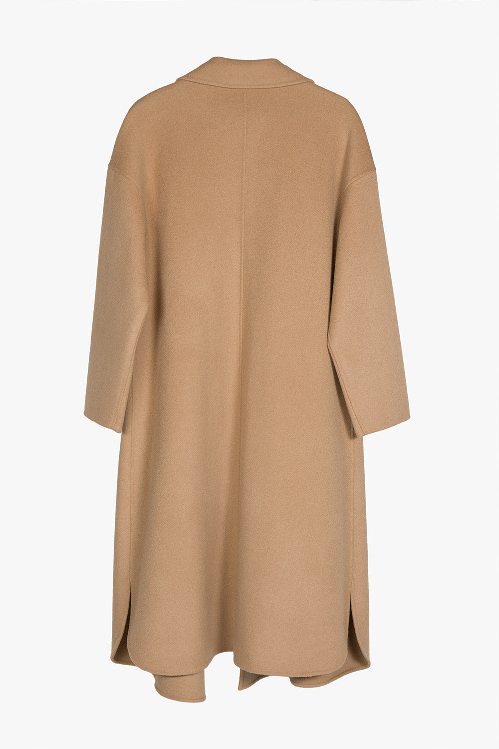 Wool Cashmere Wrap Coat