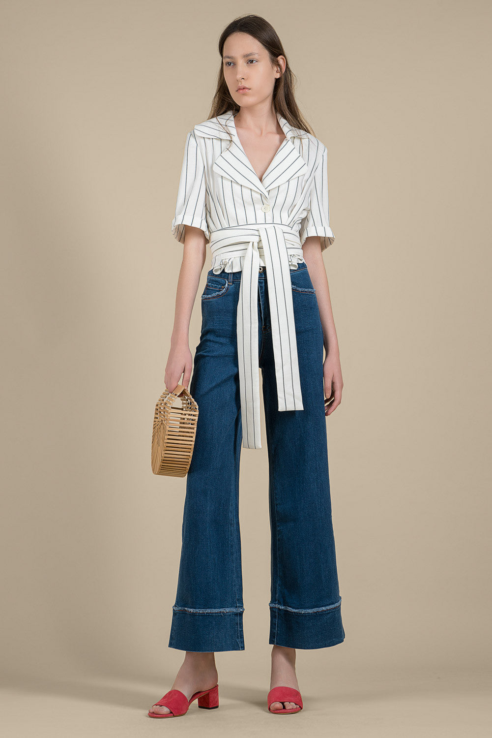 Wide-Leg Denim