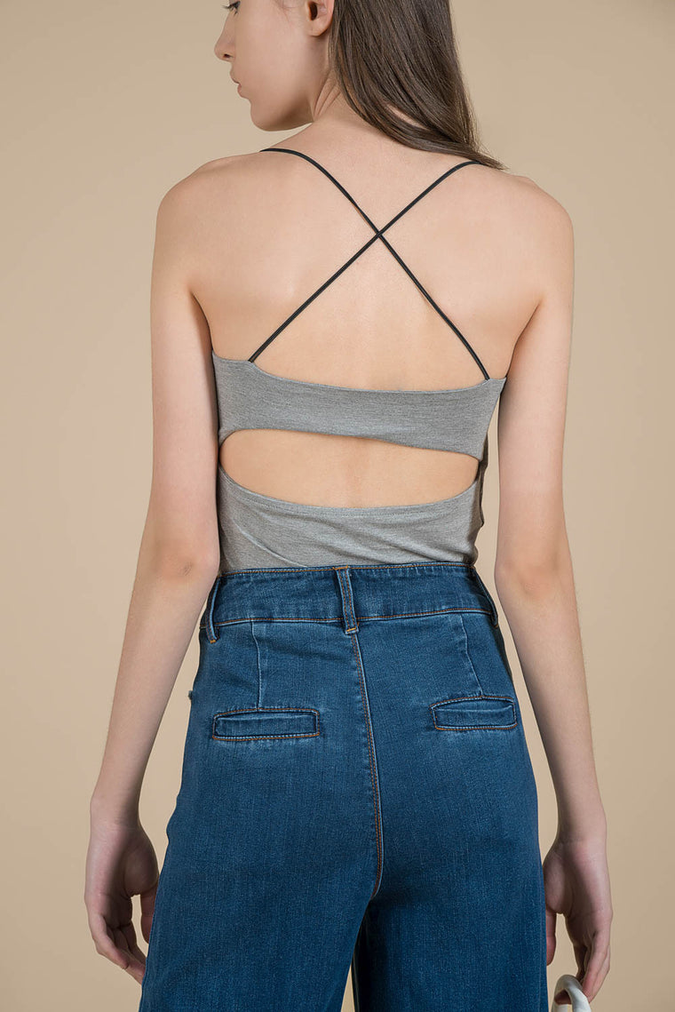 Cut-out Back Tank Top