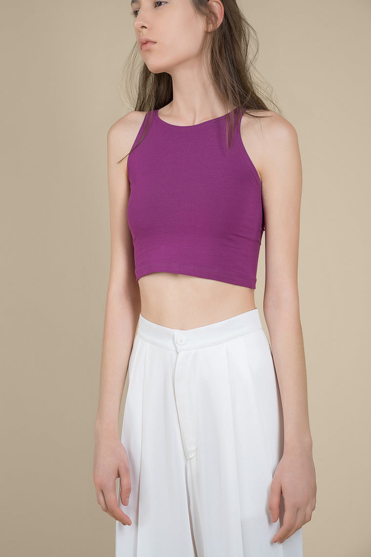 Crop Stretch Top
