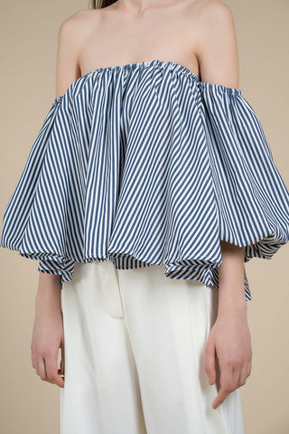 Off-Shoulder Ruffle Blouse