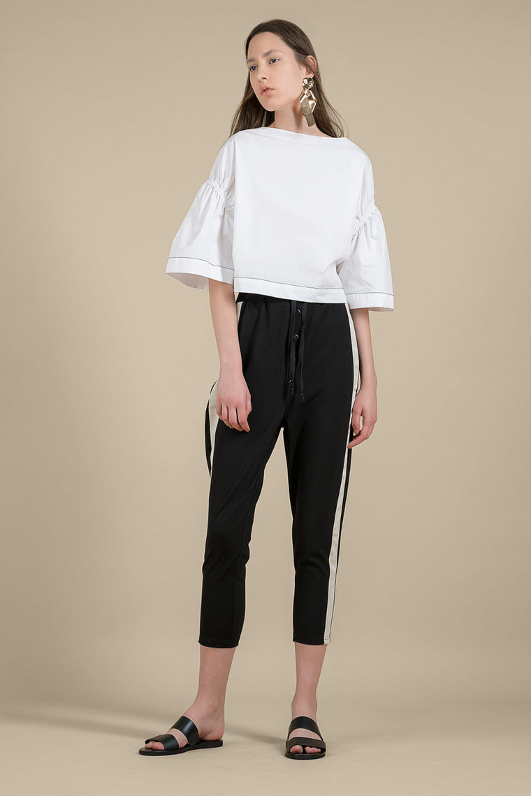 Side-Striped Leisure Pants