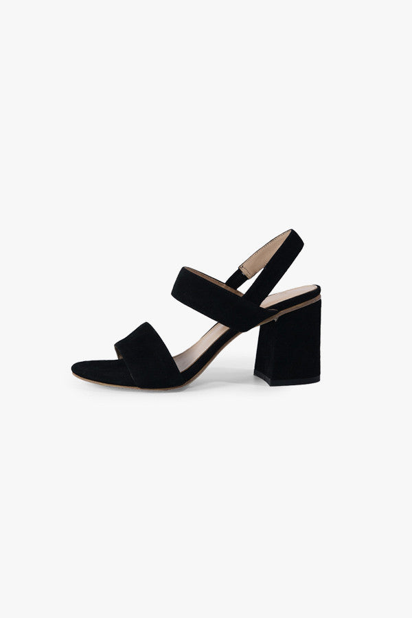 Block-Heel Strappy Sandals