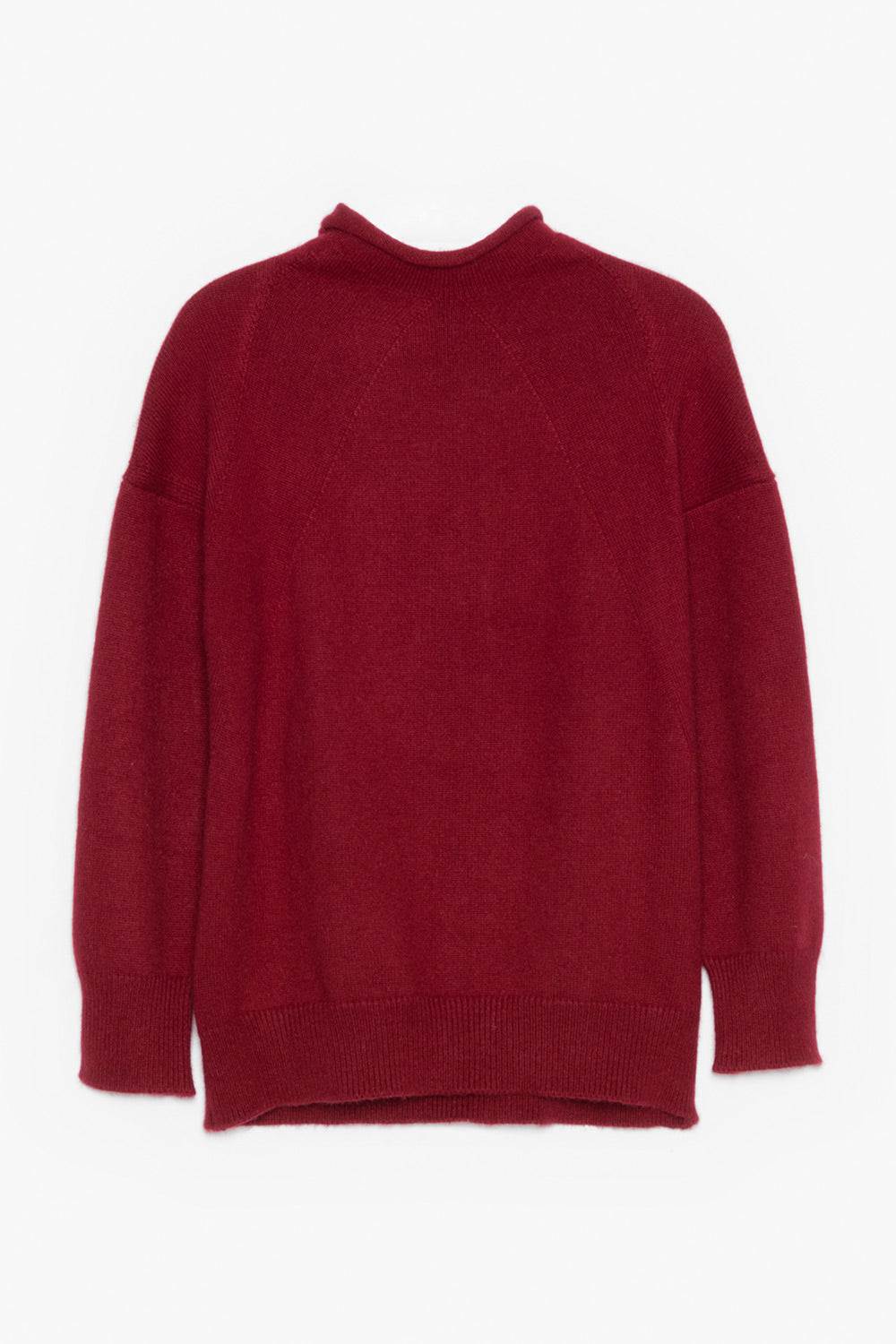 High Neck Cashmere Sweater