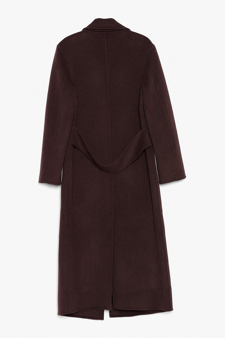 Slim Wool Maxi Coat