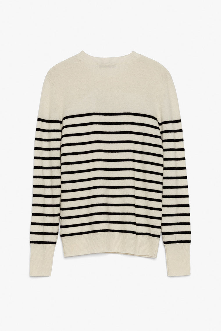 Thin Striped Cashmere Sweater