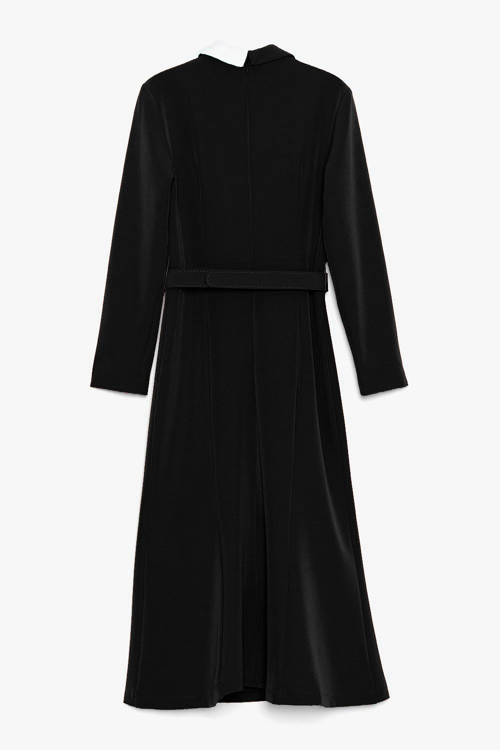 Belted Midi Wrap Dress