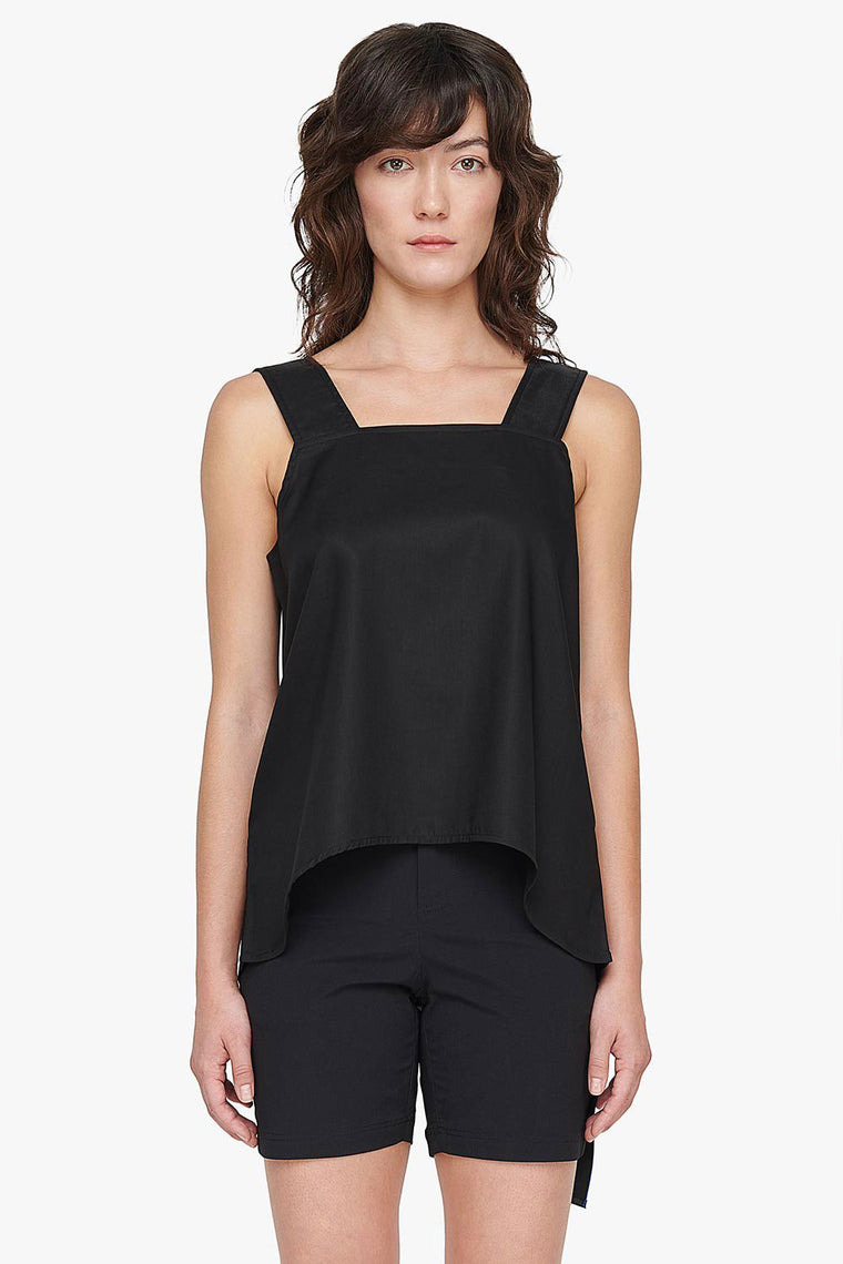 Square Neck Sleeveless Top