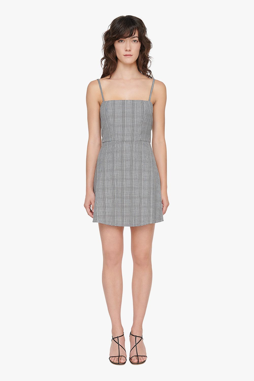 Plaid A Line Dress