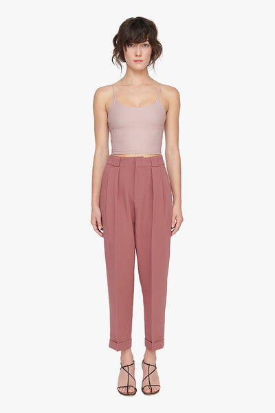 High Waist Pleated Trousers by Genuine People