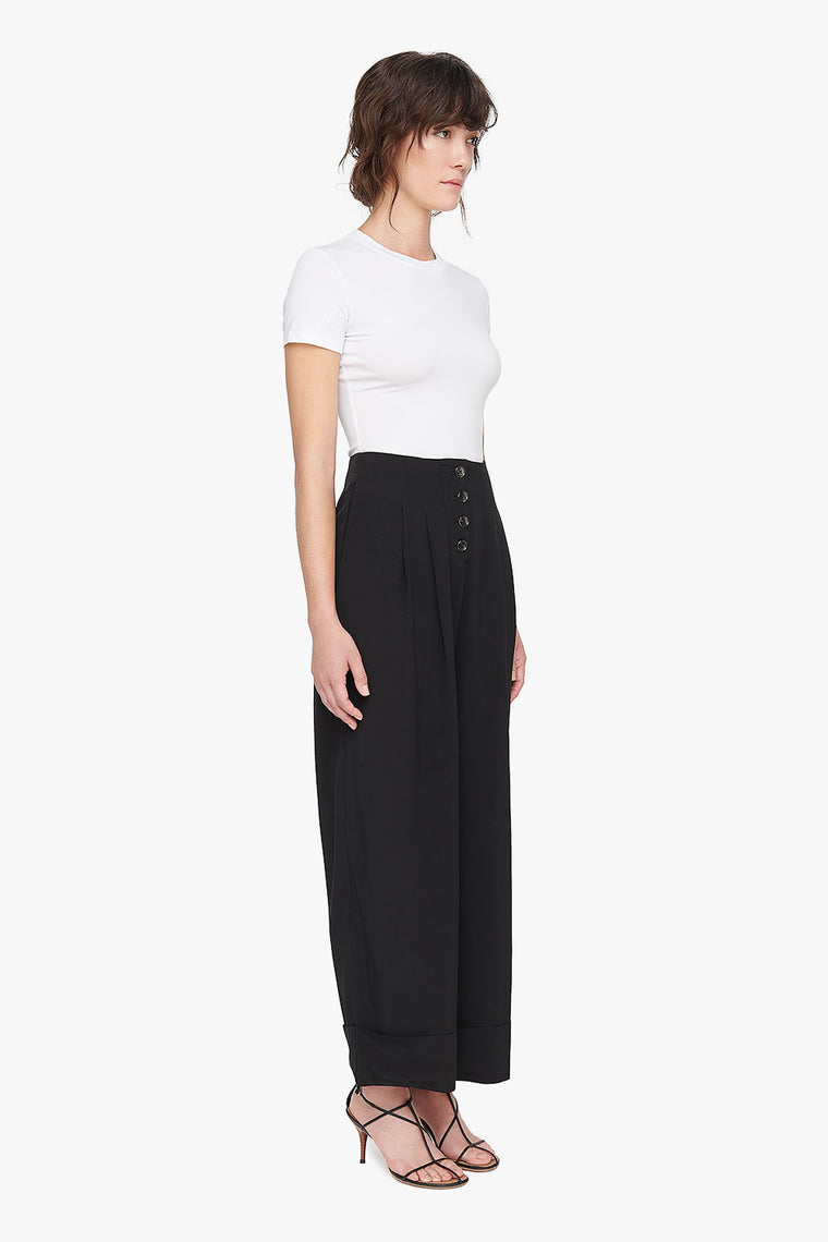 Loose Cuffed Trousers