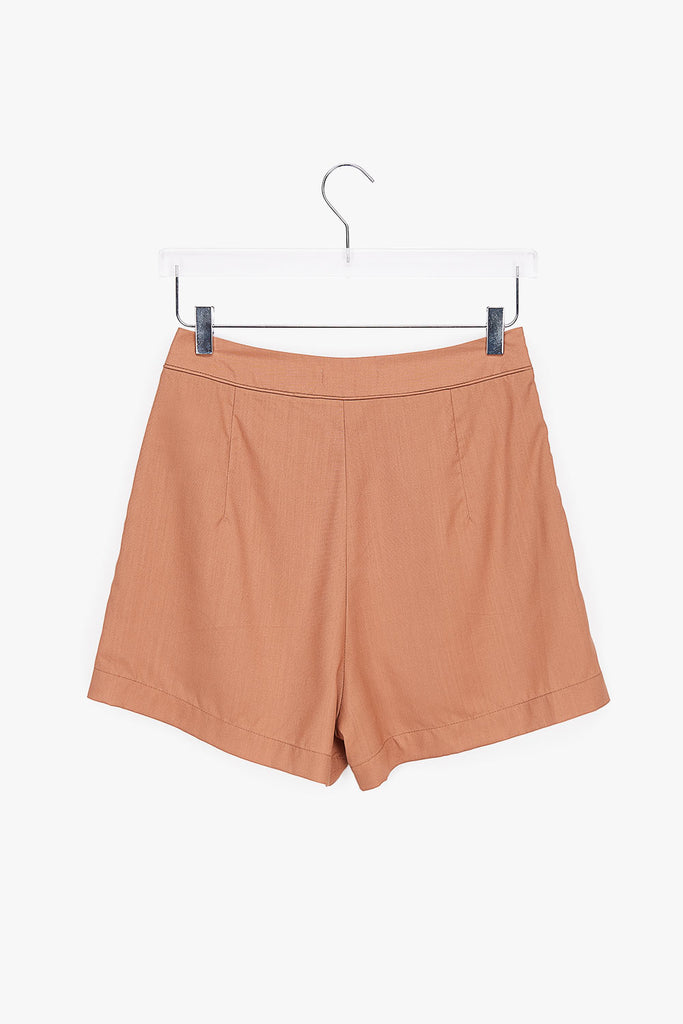 Soft Lightweight Ginger Shorts