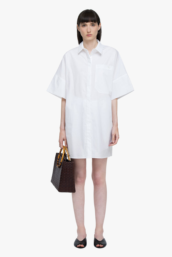 Oversized Sleek Oxford Shirt