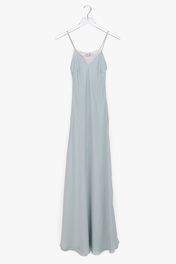 Slip on Rayon Viscose Maxi Dress