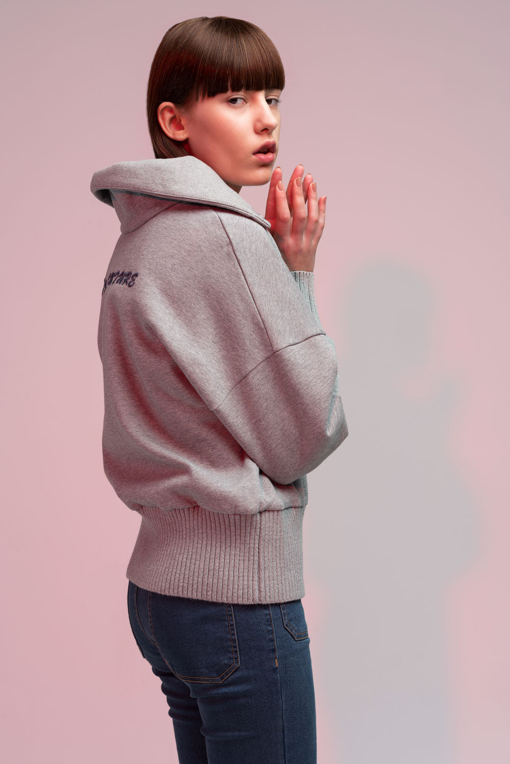 High-Neck Pullover