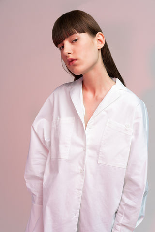 Oversized Cotton Oxford Shirt