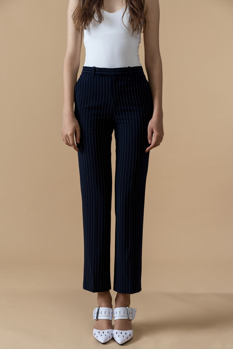 Stripe Crop Pants