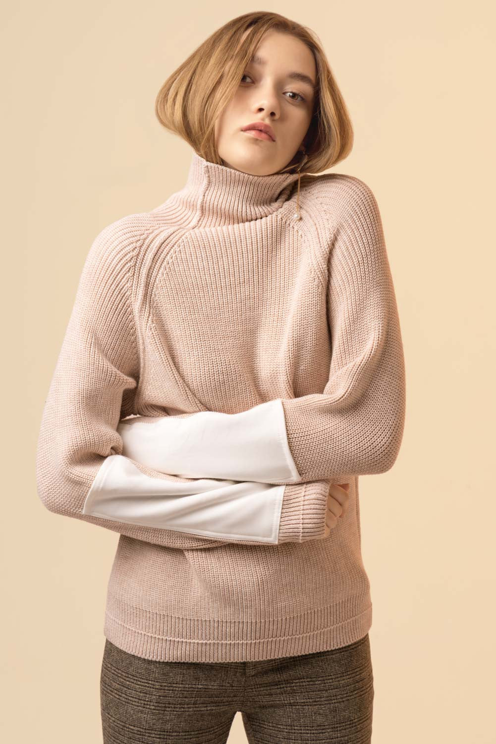 High Collar Sweater