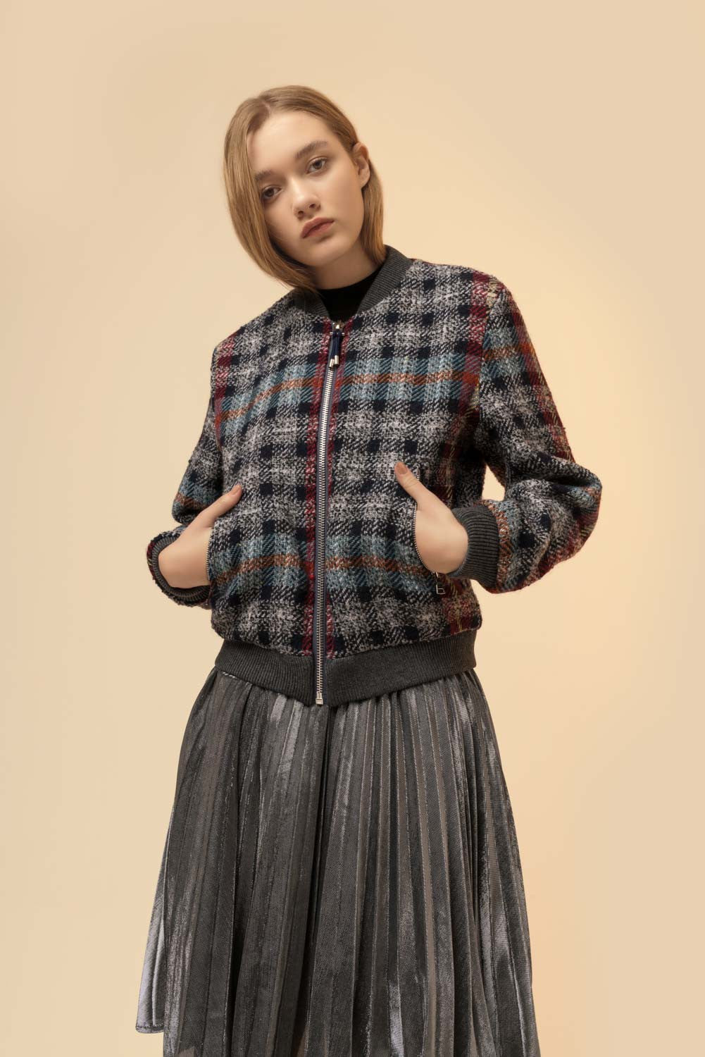 Retro Plaid Jacket