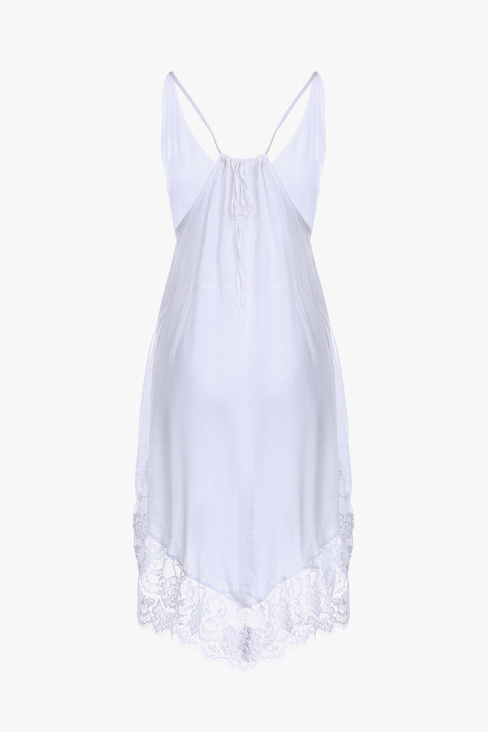 Sleeveless Sheer Slip Dress